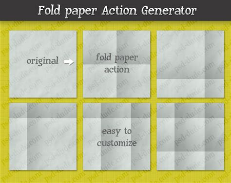 Photoshop Folded Paper Effect - fold paper with photoshop psddude