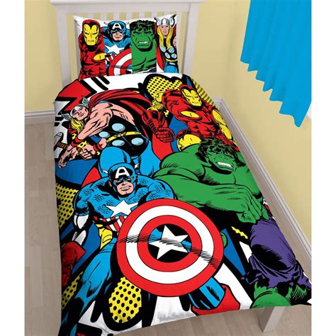 marvel comics bedding superhero single double bedding marvel comics