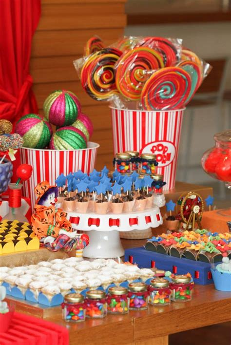 circus themed baby shower decorations circus carnival theme baby shower ideas themes