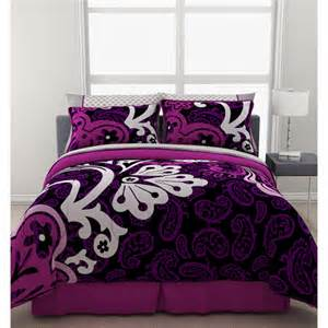 Bedding Sets Walmart Formula Eclipse Reversible Bed In A Bag Walmart