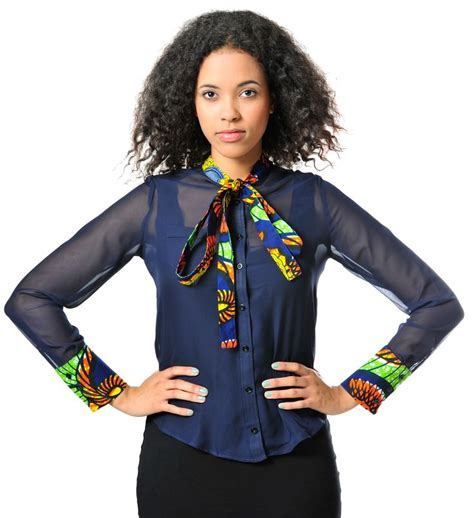 africa ladies print wares alleon shirt cute african print outfits pinterest