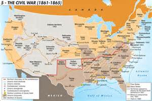 civil war battles in map civil war battles