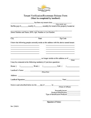 Roommate Release Form Texas Fill Online Printable Fillable Blank Pdffiller Roommate Release Agreement Template