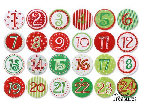 Adventskalender Zahlen Holz adventskalenderzahlen aus holz set 1