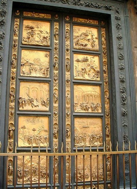 Ghiberti Doors by Ghiberti S Gates Of Paradise At The Baptistry Florence