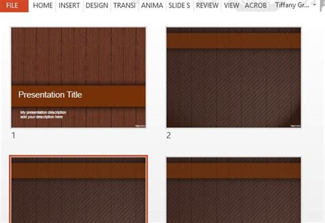 templates powerpoint wood wood design powerpoint templates