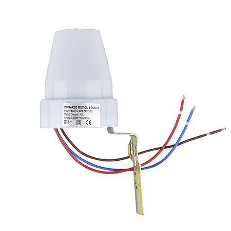 lade da esterno con crepuscolare e sensore di movimento interruttore sensore crepuscolare 10a 220v per lade