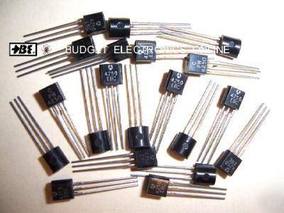 transistor pnp low noise pn4250 pnp af low noise gp transistor to 92 20 pcs