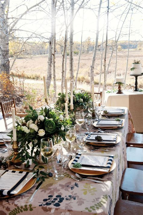 Decor For a Rustic Chic Wedding in Calgary   Avenue Calgary