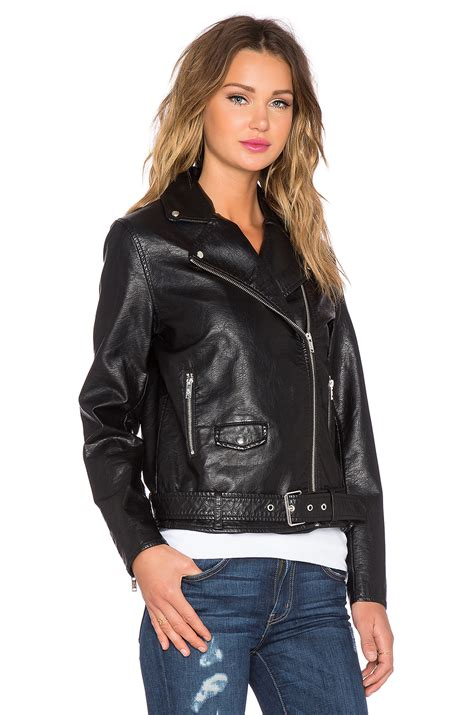 Cheap Faux Leather by Cheap Monday Vicious Faux Leather Jacket In Black Lyst
