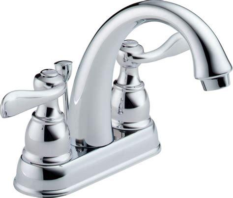 Faucet Direct Delta B2596lf Chrome Windemere Centerset Bathroom Faucet