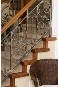 Decorative Banisters by 15 Best Ideas About Wrought Iron Stairs On