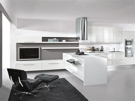 modern black and white kitchen designs modern lacquer black and white kitchen design ideas by