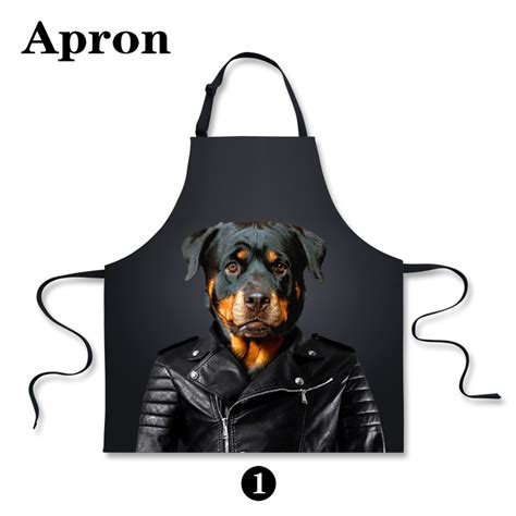 Designer Kitchen Aprons New Personalized Animals Dog Aprons Designer Kitchen