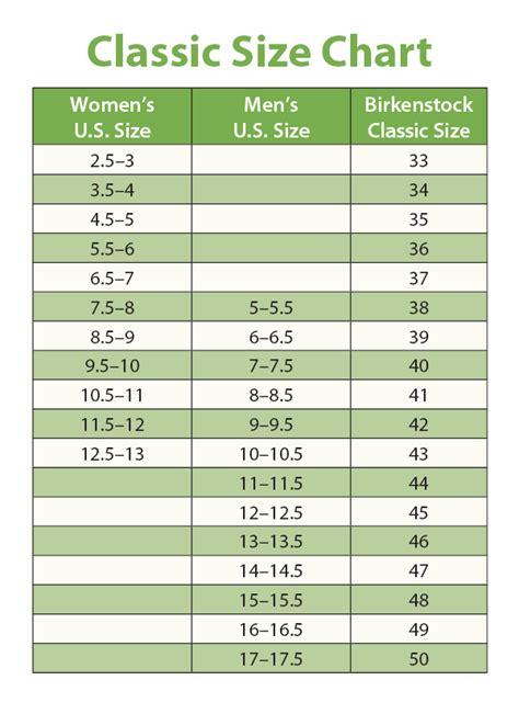 birkenstock sandals size chart birkenstock size guide hippie sandals