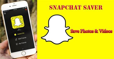 save snaps android 8 snapchat saver apps to save photos and securely must try 4