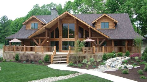 log cabin home with wrap around porch big log cabin homes eloghomes com gallery of log homes