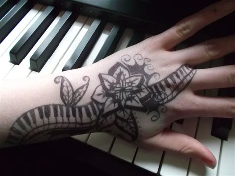 piano tattoo design by emeza on deviantart