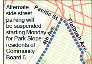 alternate side parking map sweep sensation in ny daily news