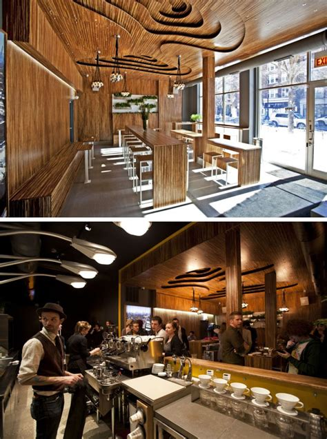 north american coffee shops   distinctive