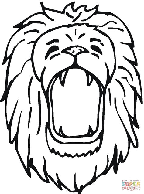 coloring page lion face 22 lion coloring pages majestic and wild animal
