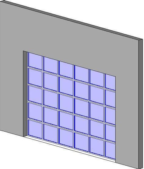 Garage Door Revit Revitcity Object Glass Panel Garage Door