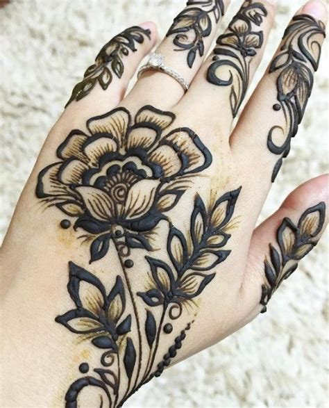 henna tattoo tangan henna simple tangan makedes