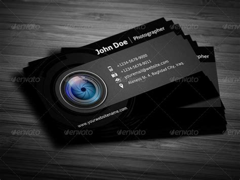 Graphic Design Home Business Ideas Photographer Business Card Template Vol 3 By Owpictures