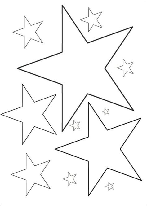 6 Star Coloring Pages Free Premium Templates   neoteric design printable stars coloring pages star me