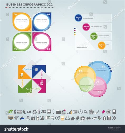 vector infographic template infographic infochart diagram