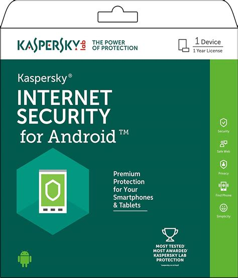 mobile kaspersky antivirus kaspersky security for android 1 device 1