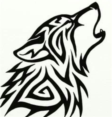 tribal wolf outline www pixshark best 25 wolf outline ideas on simple wolf
