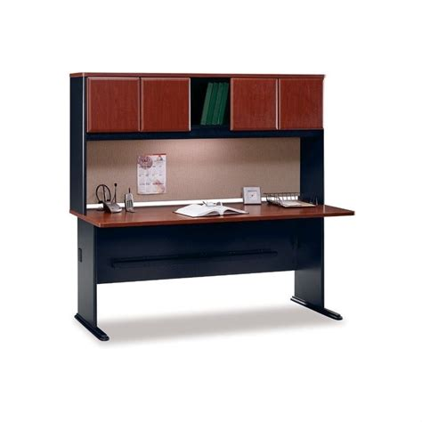 inval credenza computer workstation desk with hutch computer desk workstation 72 quot wood credenza with