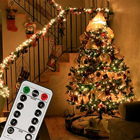 low voltage christmas decorations koopower 100 200 led indoor string light with remote and timer on 69ft clear string 8 modes
