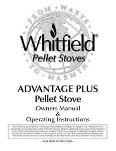 whitfield advantage i owner s manual