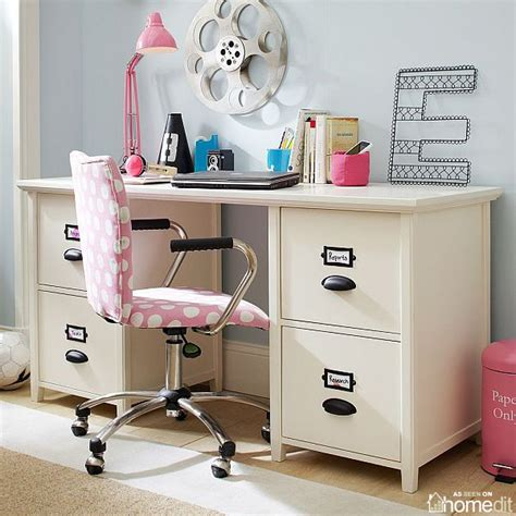 simple and functional chantal file desk