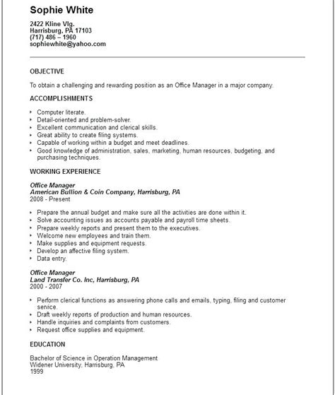 mit statement of objectives funky general resume objective statement sle