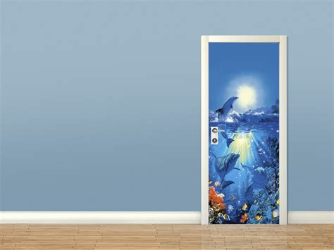 christian wall murals dolphin in the sun christian riese wall mural buy at europosters