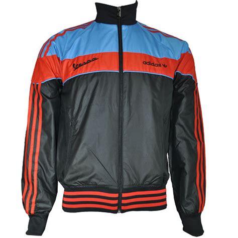 adidas vespa jacket adidas originals vespa bomber track top jacket black blue