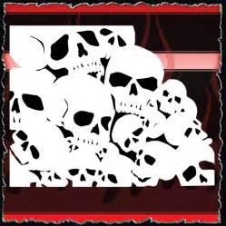 airbrush skull templates 15 00 airbrush stencils store air brushing stencils