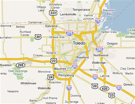 toledo usa map toledo metro area web design development firms on the