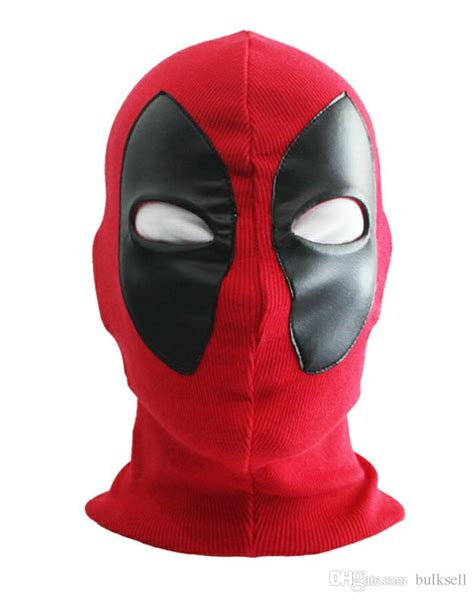 7 Cool Masks by New Cool Marvel Deadpool Mask Breathable Fabric