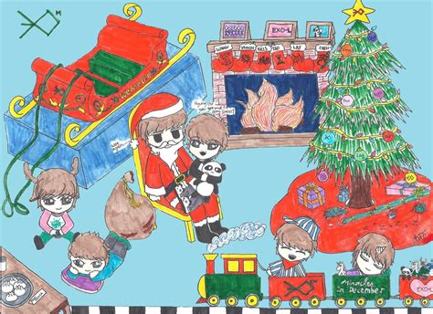 exo m icons set miracle in december by kamjong kai on exo m miracles in december christmas by aerokusaki on