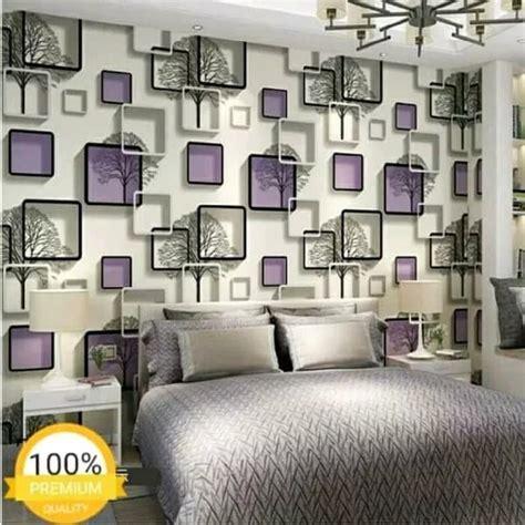 jual   ungu elegant wallpaper dinding   cm