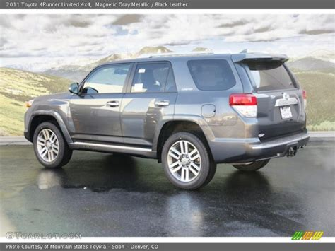2011 Toyota 4runner Limited 2011 Toyota 4runner Limited 4x4 In Magnetic Gray Metallic