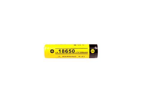 klarus 18650 2200mah 3 7v protected lithium ion li ion