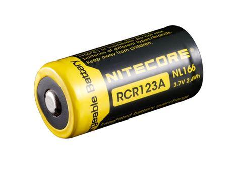 Nitecore Rcr123a Rechargeable Li Ion Battery 650mah 3 7 Diskon 1 nitecore nl166 3 7v rcr123a rechargeable li ion battery 650mah