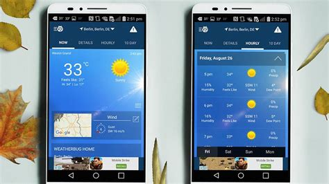 weather app for android phone 10 best weather apps and widgets for android androidpit