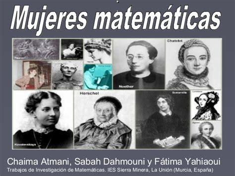 imagenes de mujeres matematicas mujeres matem 193 ticas