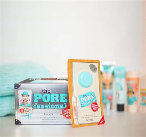 Benefit Pore Professional the porefessional instant wipeout masks benefit